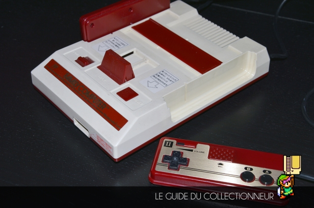 "Rare de ne pas voir une Famicom qui ne soit pas ""jaunie"" (Halliday)"