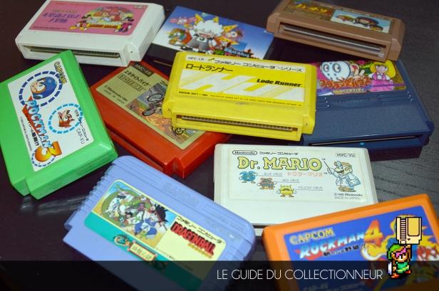 De toutes les formes et de toutes les couleurs : c'est chouette les cartouches Famicom