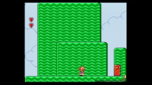 La version US de Super Mario Bros. 2 SNES