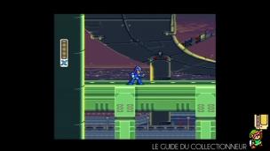 Mega Man X sur SNES en composite