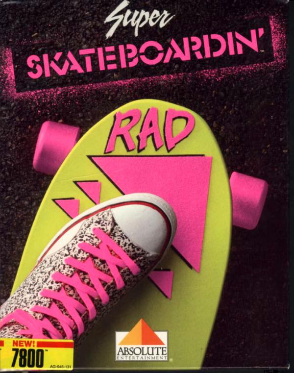 Skateboardin', un jeu bien moisi édité par Activision. Ils se feront pardonner plus tard.