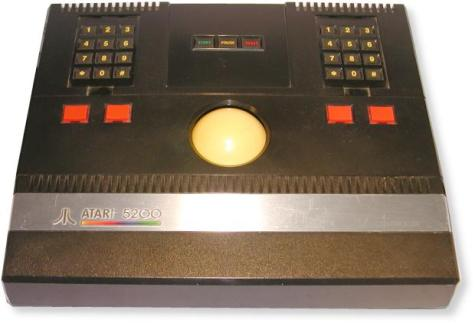 console atari 5200 trackball