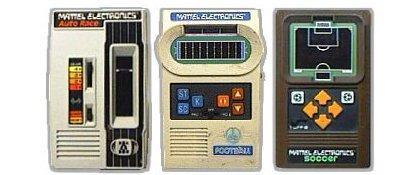 console mattel handheld games