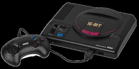 consoles MegaDrive