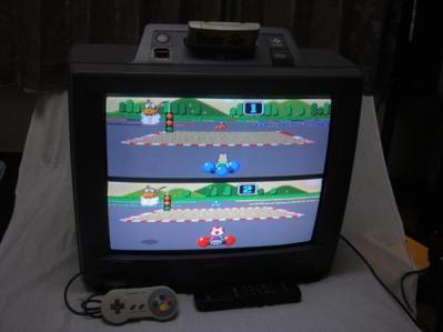 consoles SF1 Snes TV