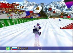 Nagano Giant Slalom snowboard